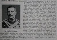 Neave A Major 16th Lancers Obit De Ruvignys Roll Of Honour