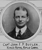 Butler J F P Captain Kings Royal Rifle Corps