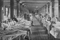 A Military Hospital At Trinity College Cambridge