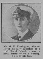 Everington G F Naval Instructor RN Graphic 10th Jan 1916
