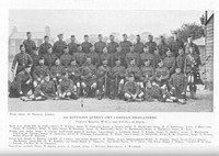 Cameron Highlanders 4th Btn Warrant Officers And Non Commisioned Officers Ripon