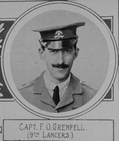 Grenfell F O Captain VC 9th Lancers