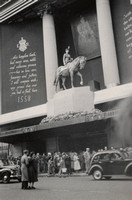 Selfridges Decorated For The Coronation 1953