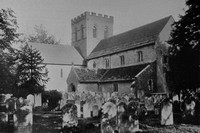 Broadwater Church Worthing c.1900