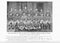Cameron Highlanders 2nd Battalion Officers At Tiflis