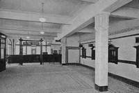 Kilburn Park Booking Hall Prior To Opening