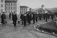 Kitcheners Army At Tipperary Barracks Christmas Day 1914