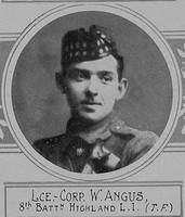 Angus W LCpl VC 8th Highland Light Infantry