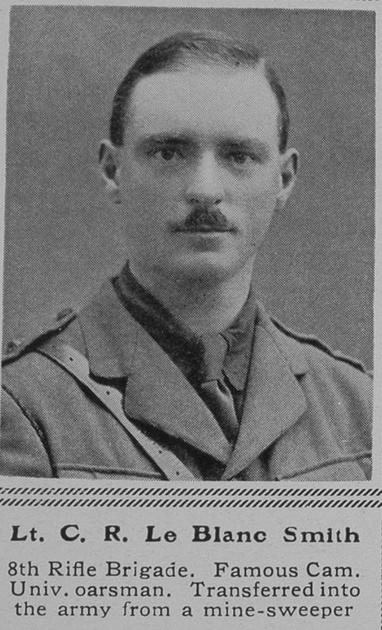 UK Photo Archive: L &emdash; Le Blanc-Smith C R Lt 8th Rifle Brigade The Sphere 29th Jan 1916