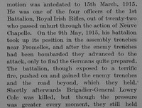 Clinton-Baker O Lt Col 1st Royal Irish Rifles Obit Part 4 The Bond Of Sacrifice Vol 2