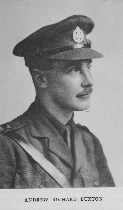 UK Photo Archive: Harrow Memorials Of The Great War Vol 1 1914-1918 Vol 5 &emdash; Buxton A R Captain Rifle Brigade