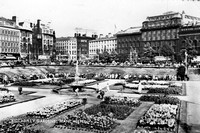 Piccadilly Gardens Manchester c.1960