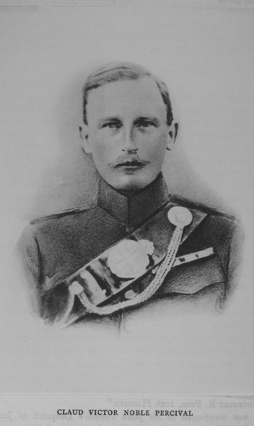 UK Photo Archive: Harrow Memorials Of The Great War Vol 1 1914-1918 Vol 1 Portraits &emdash; Percival C V N Major Rifle Brigade