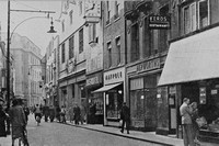 Petty Cury Cambridge 1950s