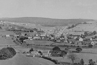 Drybrook From Ruardean Hill Gloucestershire 1920s