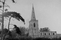 Ibstock Church Belvoir Castle Leicestershire 1940s