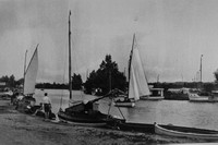 Horning On The Norfolk Broads 1930s Photo No 1