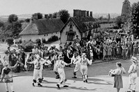 Morris Dancers At Thaxted Essex 1940s