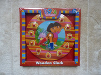 Dora The Explorer Wooden Clock Puzzle