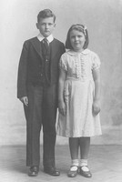 A Brother And Sister c.1910