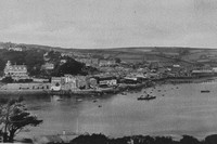 A General View Of Salcombe 1920s