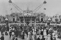 The Franco British Exhibition Shepherds Bush London 1908