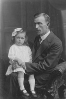 A Man With A Little Girl c.1910