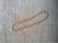 Vintage Faux Pearl Necklace 17 Inches