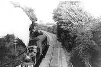A Train Leaving Carshalton Beeches Towards Wallington 1906