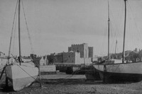 Castletown Harbour Isle Of Man 1940s