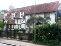 Cottages In Woodfield Lane Ashtead 2016