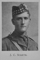 Scarth J C 2nd Lt 7th Seaforth Highlanders