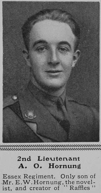 UK Photo Archive: H &emdash; Hornung A O 2nd Lt 2nd Essex Regiment The Sphere 28th Aug 1915