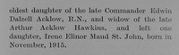 Adcock St J Major 3rd Leinster Regiment Obit Part 3 The Bond Of Sacrifice Vol 2