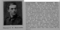 Rancombe M E W Pte 3rd Monmouthshire Regt Obit De Ruvignys Roll Of Honour Vol 1