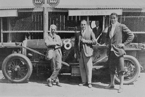 F C Clement W O Bentley J F Duff And The Winning Car Le Mans 1921