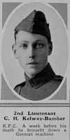 Kelway-Bamber C H 2nd Lt Royal Flying Corps The Sphere 15th Jan 1916