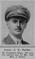 Parker J S Lt 7th West Yorks Regt The Sphere 26th Oct 1918