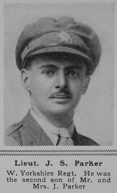 UK Photo Archive: P &emdash; Parker J S Lt 7th West Yorks Regt The Sphere 26th Oct 1918