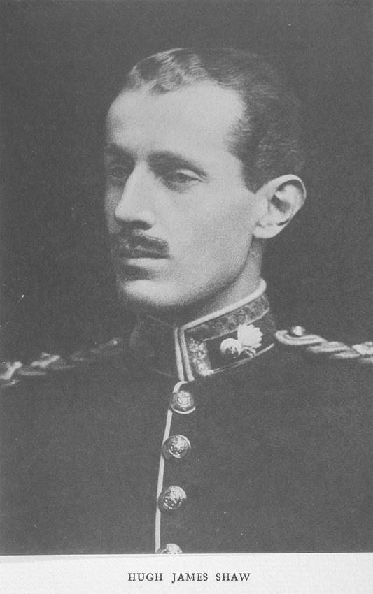 UK Photo Archive: Harrow Memorials Of The Great War Vol 1 1914-1918 Vol 1 Portraits &emdash; Shaw H J Captain Royal Fusiliers