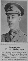 Wilkinson E S Lt RFC The Sphere 4th Mar 1916