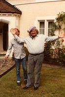 Benny Hill Filming In Ashtead Park 1980s