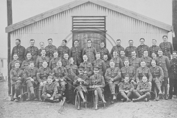 D Company 20th Royal Fusiliers Woodcote Park Camp Epsom