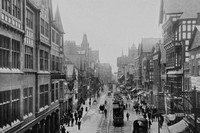 Eastgate Street Chester c.1900 Photo No 2