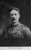 Barclay T H Major Surrey Yeomanry