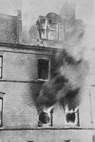 The End Of The Sidney Street Siege Stepney 3rd Jan 1911