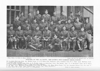 Cameron Highlanders 4th Battalion Officers