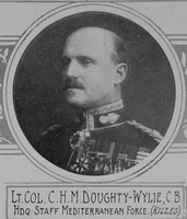 Doughty-Wylie C H M Lt Col VC Royal Welsh Fusiliers