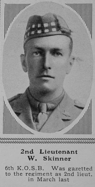 UK Photo Archive: S &emdash; Skinner W 2nd Lt 6th KOSB The Sphere 30th Oct 1915