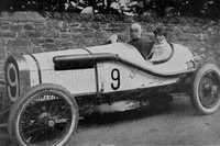 W O Bentley And The Car He Drove In The 1922 T.T.